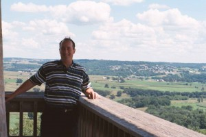 Fred at Fire Tower near Apple River, IL